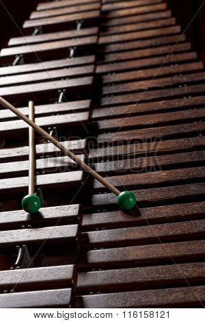 Xylophone With Two Mallets