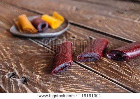 Sweet And Sour Fruit Leather
