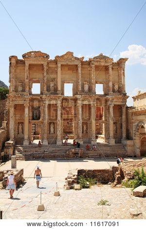 Celsus Library At Ephesus