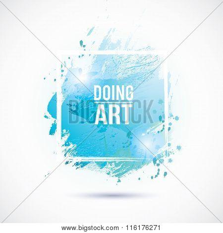 Watercolor-blue-doing-art
