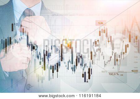 Successful Investor Concept