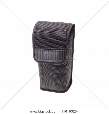 New Black Speedlight Flash Case Isolated On White