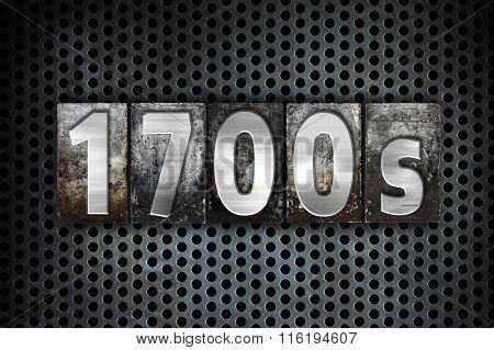 1700S Concept Metal Letterpress Type