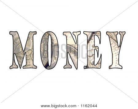 Coin Money Text