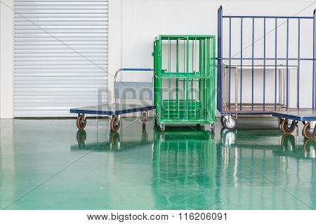 Warehouse Trolley For Industry