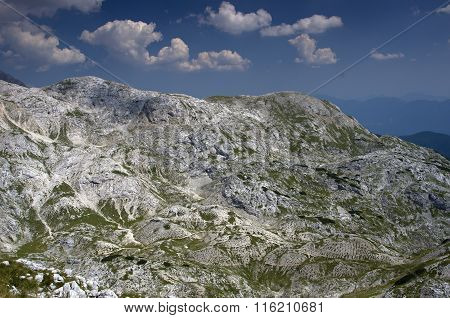 Moonscape In The Mountains I., Julian Alps