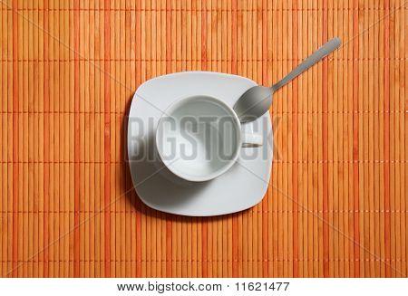 empty coffeecup