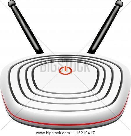 modem vector illustration