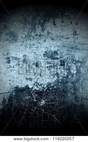 Dark Grungy Wall Background
