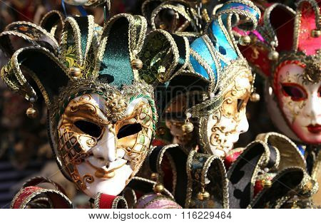 Venice Italy Carnival Mask For Sale In The Shop