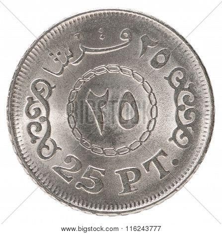 Egyptian Piastres Coin