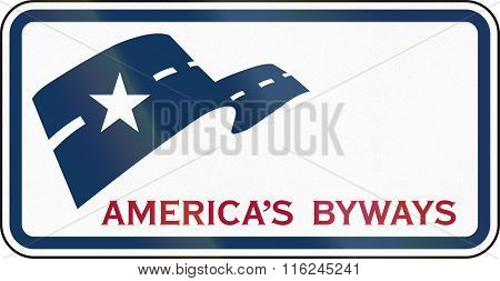 United States Mutcd Guide Road Sign - Americas Byways