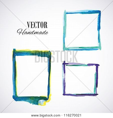 Watercolor-frame-blue
