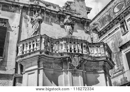 Propylaea, Main Gateway Of Cathedral Square In Lecce, Salento, Italy
