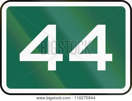 United States Mutcd Road Sign - 44