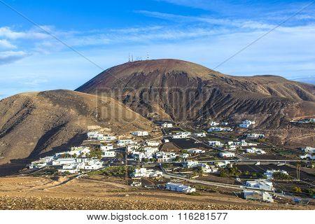 Village Of Femes In Lanzarote