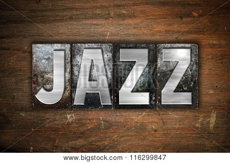 Jazz Concept Metal Letterpress Type