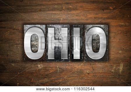 Ohio Concept Metal Letterpress Type
