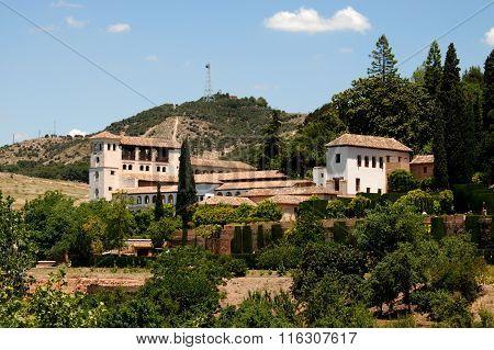 Generalife, Alhambra Palace.