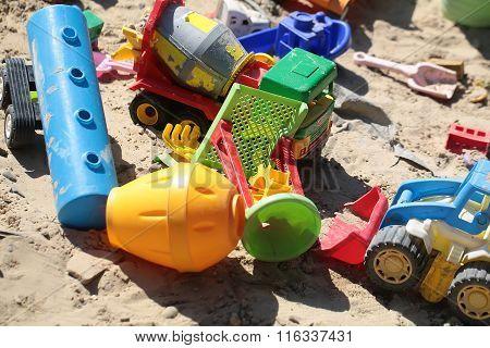 Many Beautiful Childish Cars Toys