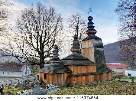 Slovakia - Wooden Church In Hunkovce Near Svidnik