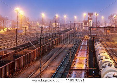 Freight Trains - Cargo Transportation, Railway