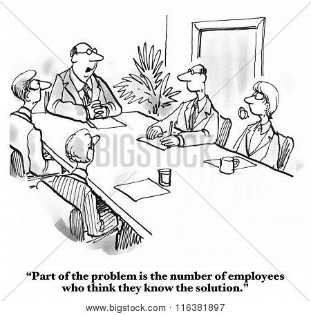 Know It All Employees
