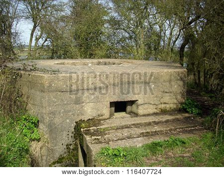 World War Two pillbox