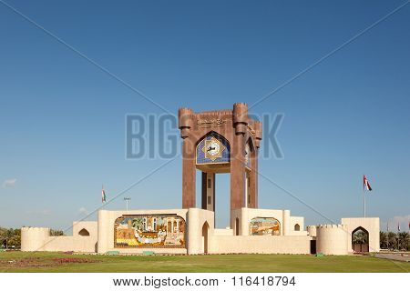 Clock Tower Roundabout In Muscat, Oman