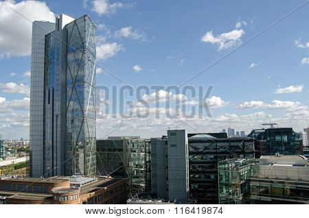 Broadgate Tower And City Of London