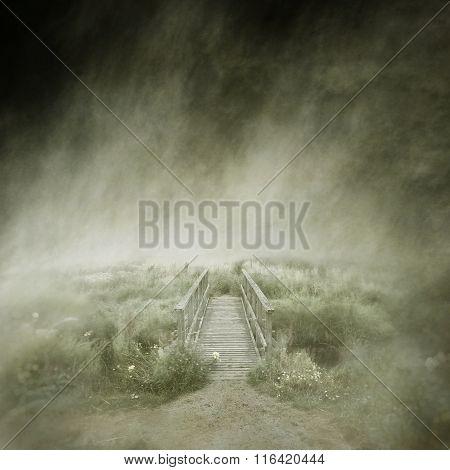 Deserted Footbridge