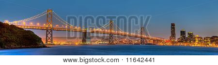 San Francisco Bay Bridge Panorama