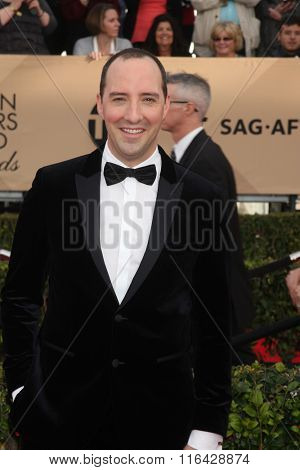 LOS ANGELES - JAN 30:  Spotlight Cast at the SAG Awards at the Shrine Auditorium on January 30, 2016 in Los Angeles, CA