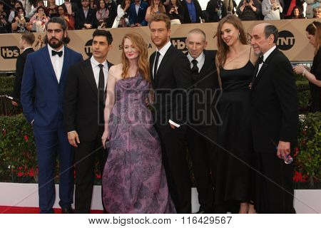 LOS ANGELES - JAN 30:  Homeland, cast at the 22nd Screen Actors Guild Awards at the Shrine Auditorium on January 30, 2016 in Los Angeles, CA