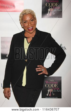 LOS ANGELES - JAN 29:  Rolanda Watts at the An Evening with The Woman Code Event at the City Club on January 29, 2016 in Los Angeles, CA