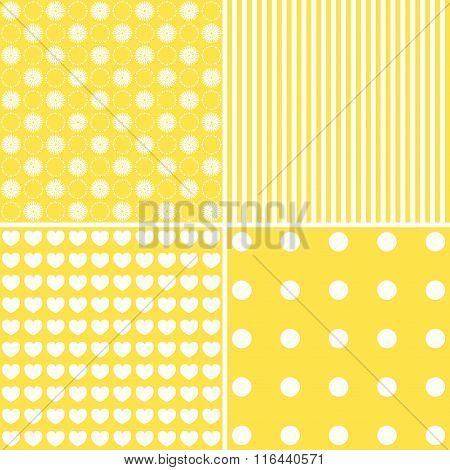 Set Of Cute Patterns
