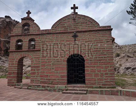 Small Church In Cordillera De Los Frailes
