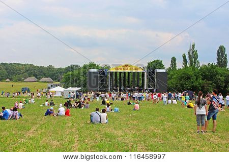 World Music Stage Of World Music Festival