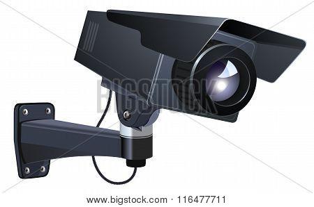 CCTV vector illustration