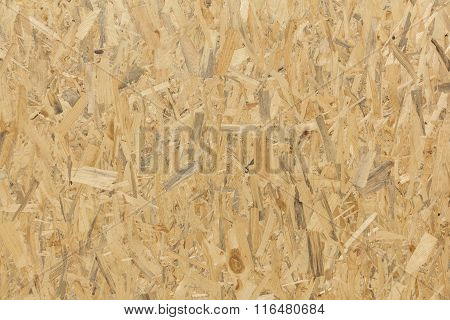 Pressed Wooden Panel Background