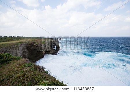 Manza Cape at Okinawa, Japan