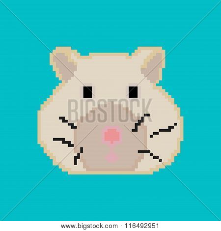 Pixel hamster