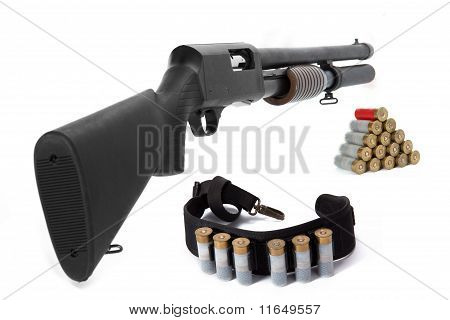 Shotgun And Ammunition