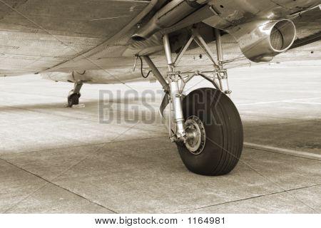 Vintage Dc3 Landing Gear