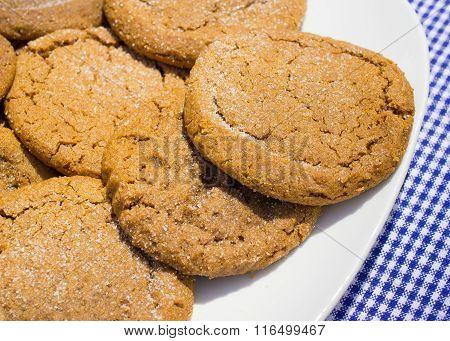 Fresh Molasses Cookies