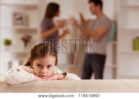 Quarrels Upset Child
