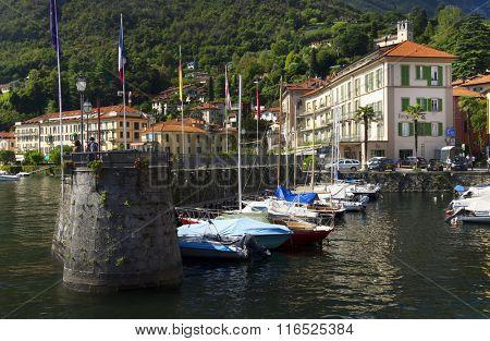 Menaggio resort on the shore of lake Como, Italy, Europe