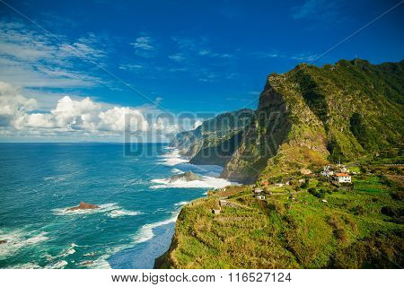 Northern Coast Of Madeira