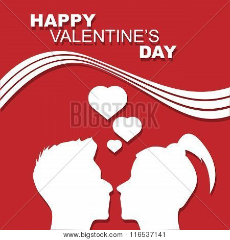 Happy Valentine's Day People In Love