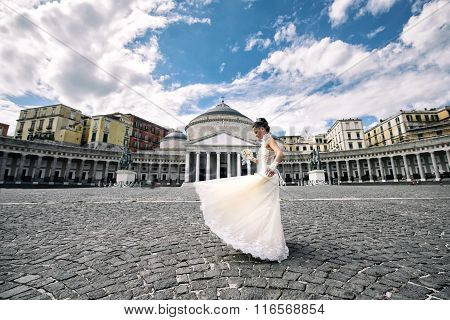 Wedding Square Plebiscite In Naples